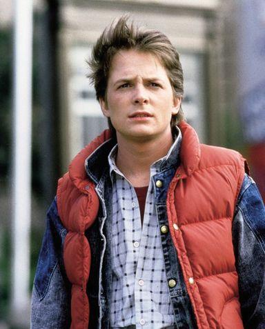 """12 марта 1987 года - Майк Джей Фокс снялся в  """"Назад в будущем """" и стал..."""