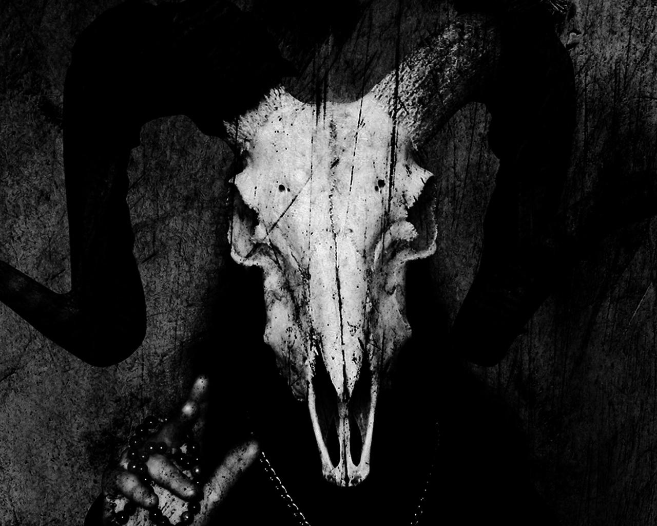 Satanic Goat Head Wallpaper   www.pixshark.com - Images ...