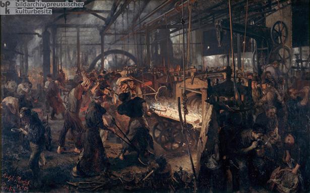 Kulturgeschichte / Industrie / H¸ttenwerke / Walzwerke