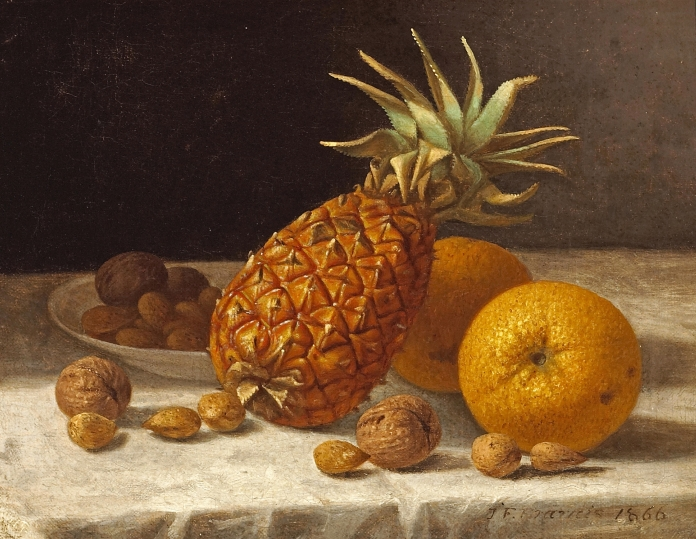 John_F._Francis_-_A_Still_life_with_Pineapple,_Oranges,_and_Nuts